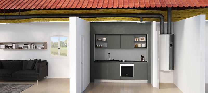 comment fonctionne un ballon thermodynamique avec vmc ou. Black Bedroom Furniture Sets. Home Design Ideas